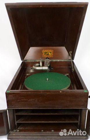 Граммофон HIS masterS voice Англия 1920-е  89136830464 купить 2