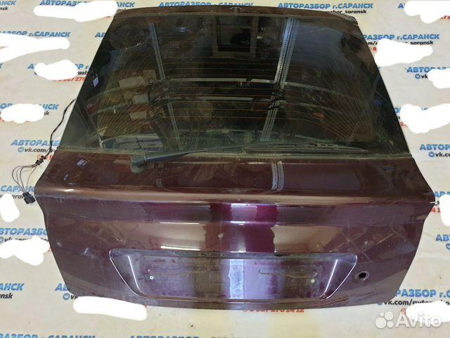 Крышка багажника приора хетчбек портвеин 2014г