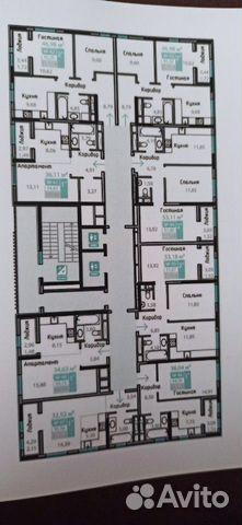 1-к квартира, 36 м², 7/15 эт. 89343408997 купить 3