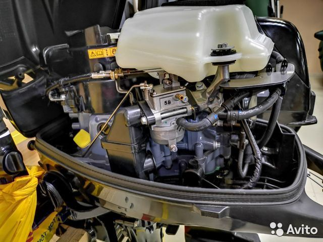 Лодочный мотор suzuki DF6 4т Б/У