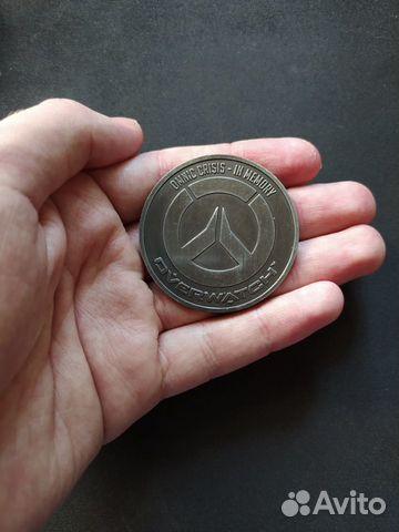 Монета Overwatch за предзаказ  89991502489 купить 1