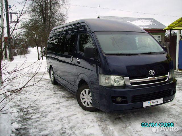 Toyota Hiace, 2006  89190047664 купить 3