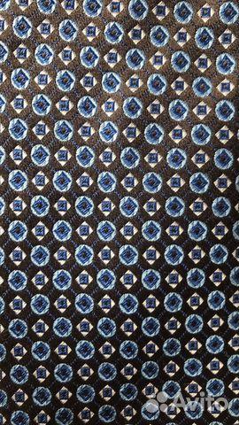 Шелковый галстук Hugo Boss оригинал  89062140028 купить 4