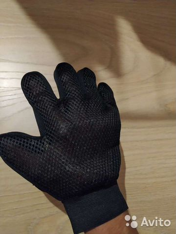 Перчатки для расчесывания шерсти