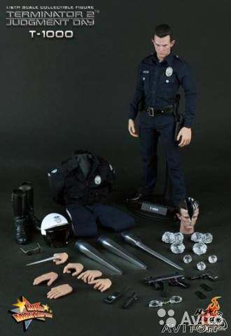Sideshow Hot Toys Terminator 2 T-1000 1/6