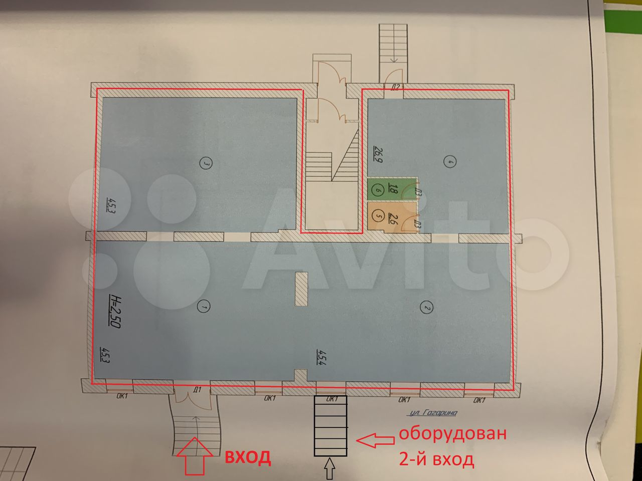 Торговое помещение, 160 м²  89658367373 купить 4