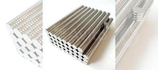 Неодимовый магнит 9 мм х 2 мм купить в Воронежской области с доставкой | Хобби и отдых | Авито