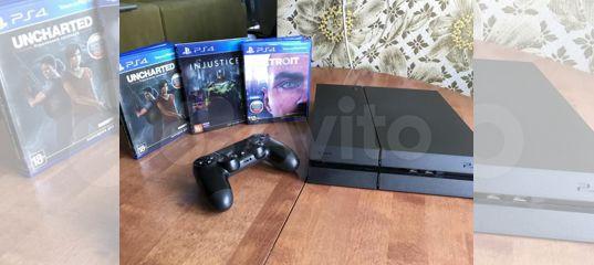 Sony PlayStation 4 Pro 1TB (комплект + игры)