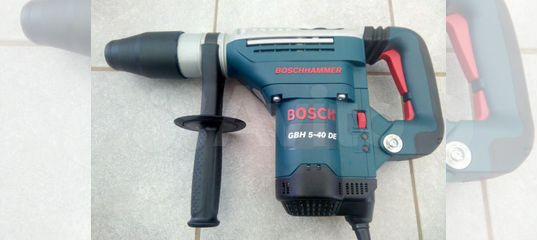 Перфоратор bosch GBH 5-40 DE (10 Дж) 80 Нм