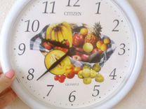 Часы Citizen настенные