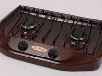 Плита газовая Гефест 700-02 коричневый