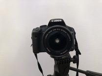 Фотоаппарат зеркальный canon 500d (18-55 mm)