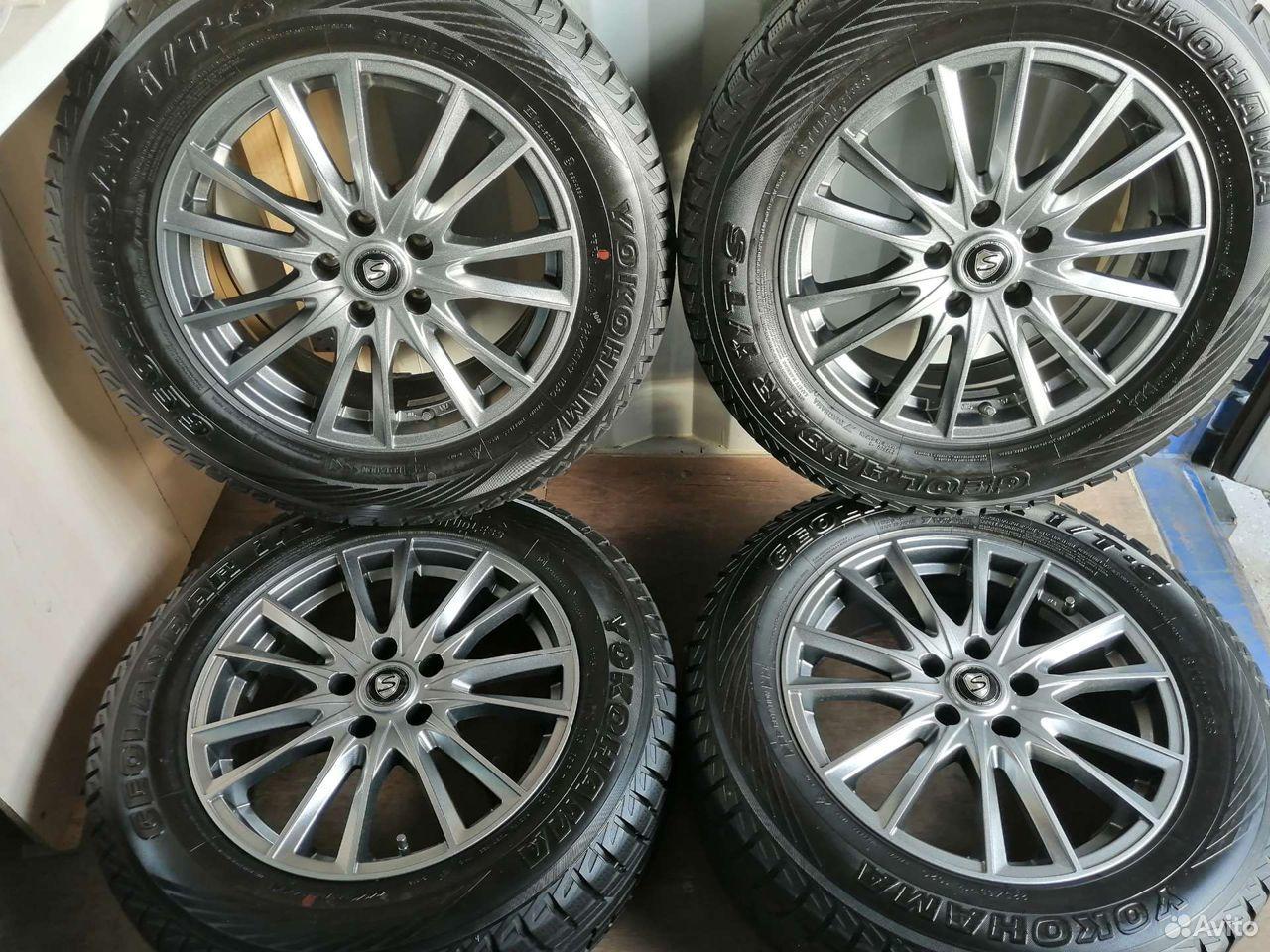 Комплект колес (№161) из Японии  89244146927 купить 1