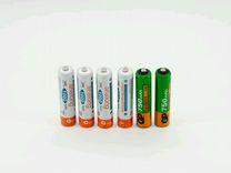 Батарейки аккумуляторные ааа