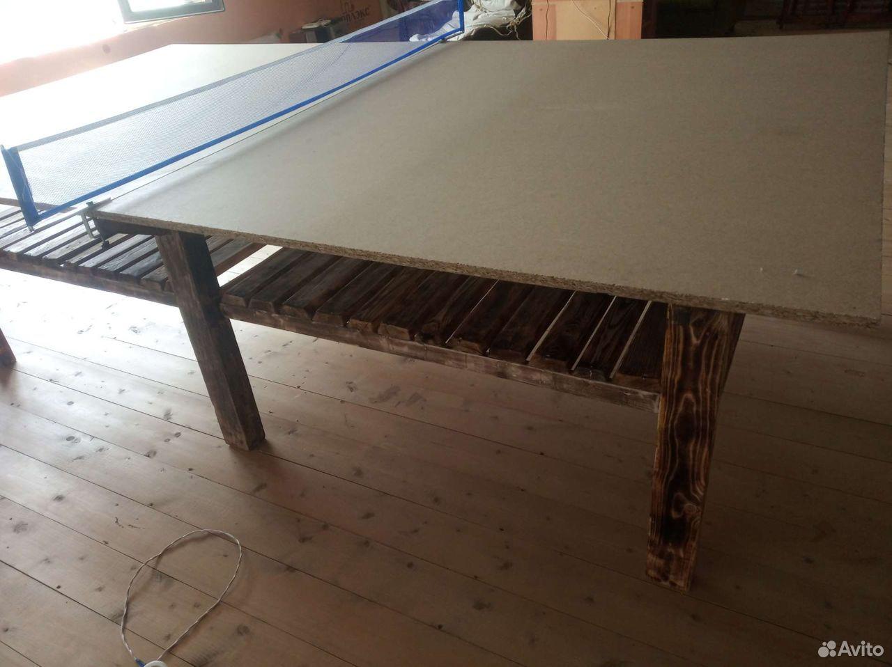 Теннисный стол из массива дерева  89289277679 купить 2