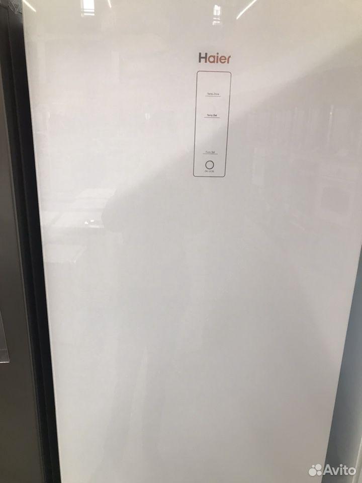 89270863062  Новый Холодильник Haier белоСтекло 386л199смИнверт