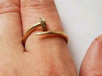 Золотое кольцо гвоздь