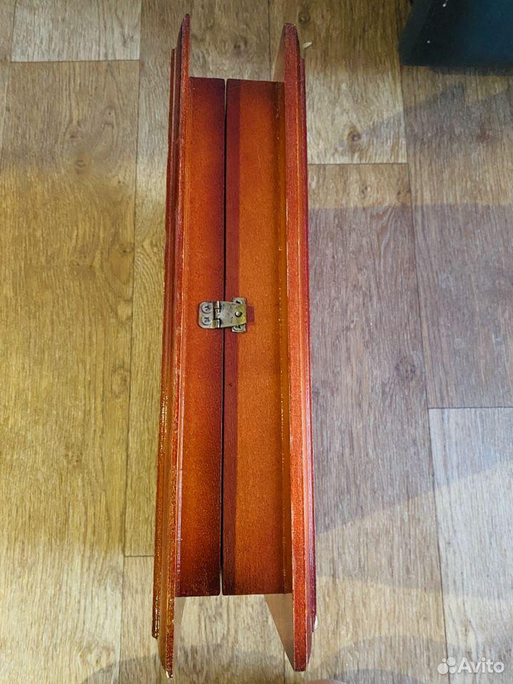 Шкатулка резная деревянная 40*30