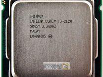 Процессор s1155 Intel Core i3-2120 4 ядра по 3.30