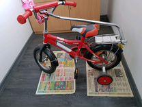 Велосипед Novatrack 12, красный