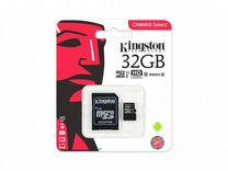 Micro SD Kingston 32GB Class 10 Карта памяти