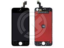 Дисплей для iPhone 5S/SE +тач черный с рамкой AAA