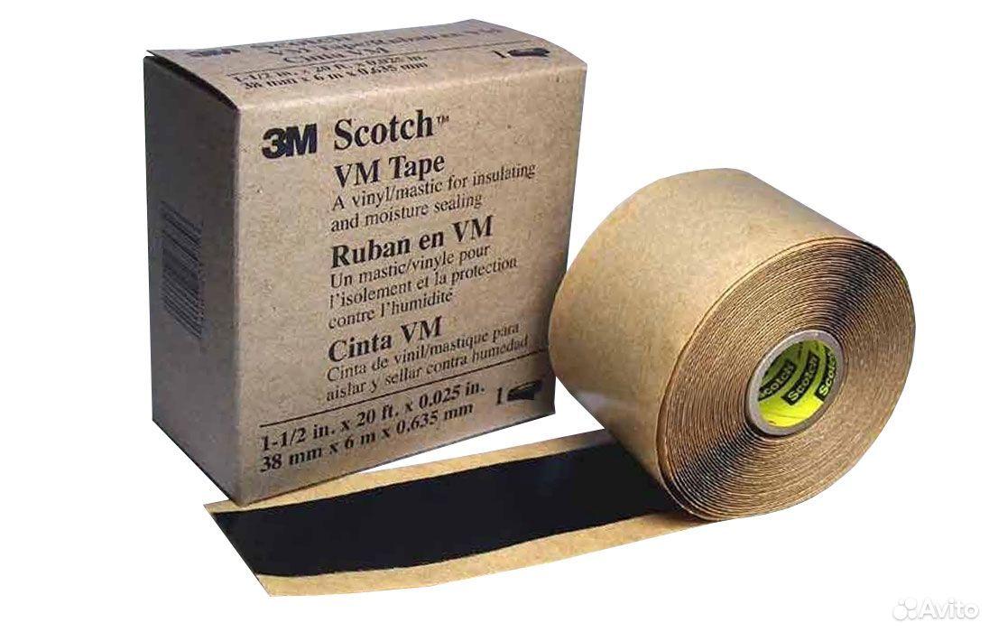 3M Scotch (Скотч) VM лента винил-мастика, 38 м