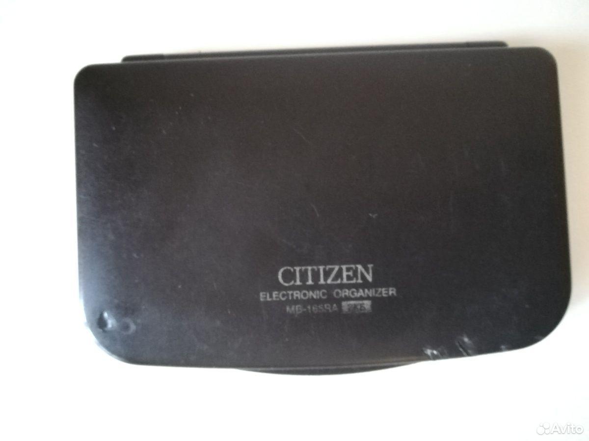 Электронная записная книжка Citizen  89040091715 купить 2