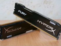 Оперативная память Hiperx fury 4x2(8гб) 2666