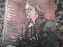 Кашевский Г.И. Портрет жены художника.60-е годы