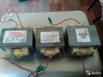 Трансформатор высоковольтный на микроволновые печи