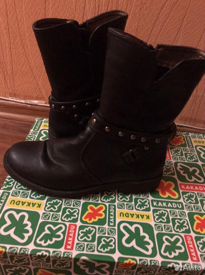 Ботинки для девочки  89194355060 купить 1