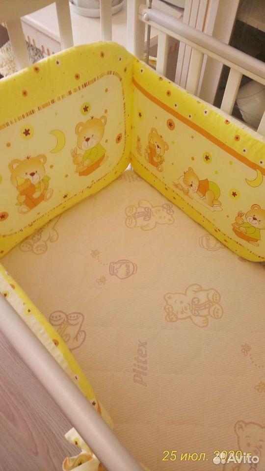 Детская кроватка два положения матрас ортопедическ  89243932969 купить 4