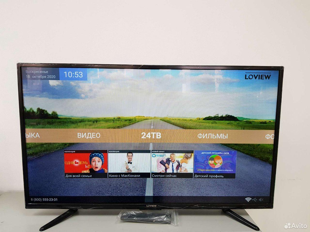 Д7) Телевизор Loview L39F401T2S  89642602386 купить 1