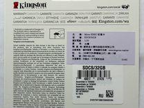 Kingston 32Gb microsdhc 10 class UHS-I 533x, новая