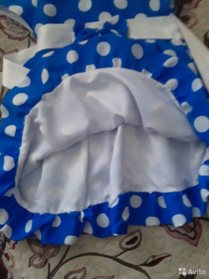 Платье в горошку 89050294083 купить 2