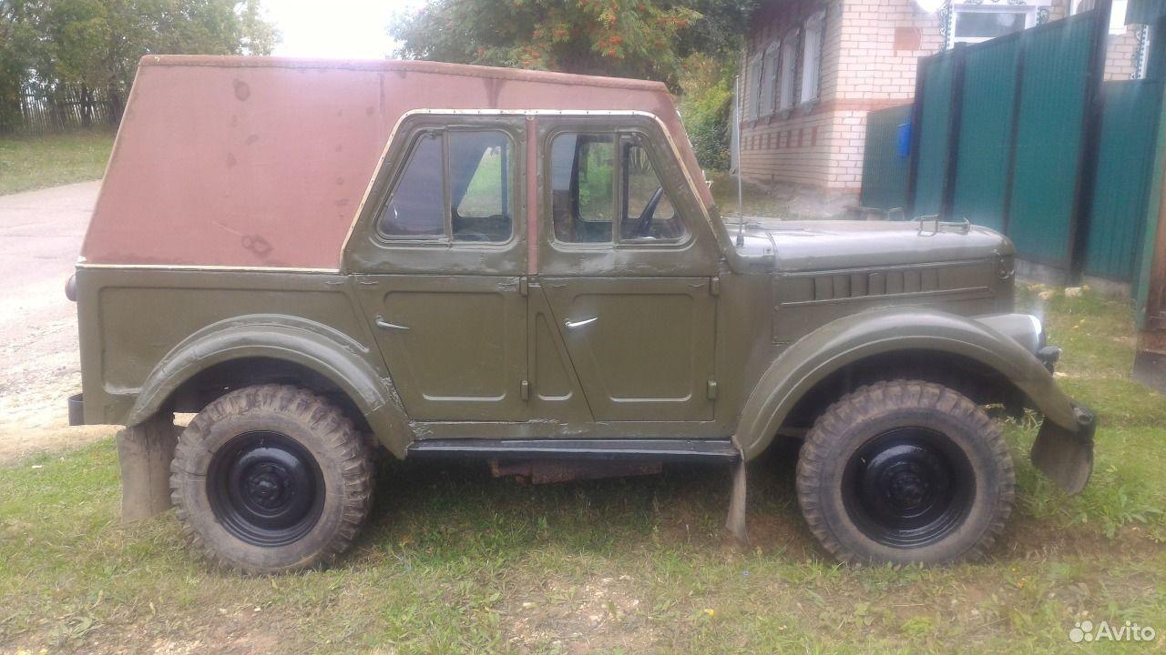 ГАЗ 69, 1967 с пробегом, цена 100000 руб.
