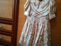 Платье для девочки размер 32 2 штуки можно для дво