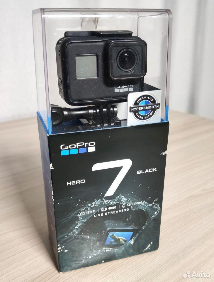 Видеокамера экшн GoPro hero 7 Black Edition