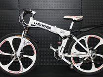 Велосипед на литых дисках Land Rover