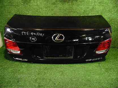 Крышка багажника Lexus Gs450H GRS191 2grfse 2007