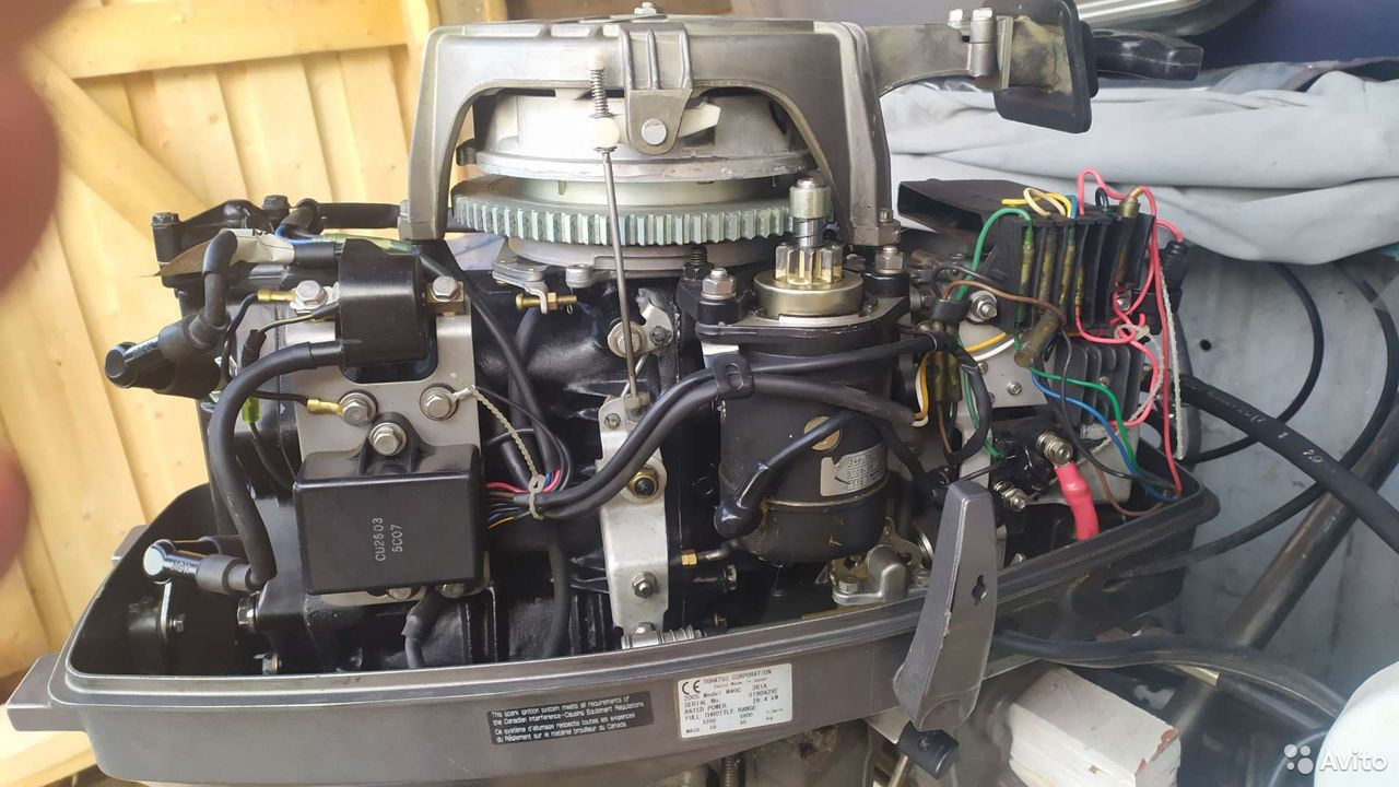 Мотор tohatsu m40c